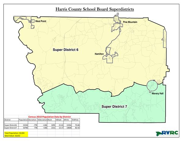 School Board Super District Map