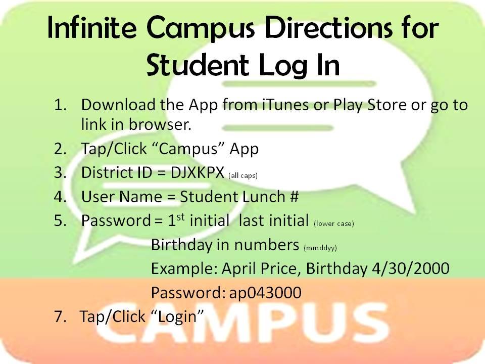 Swmisc Infinite Campus