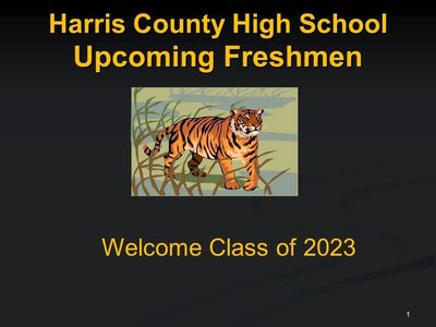 Incoming Freshman Class of 2023