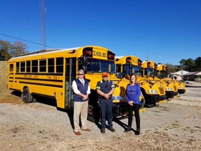 Georgia School District Receives 4 New Special-Needs School Buses