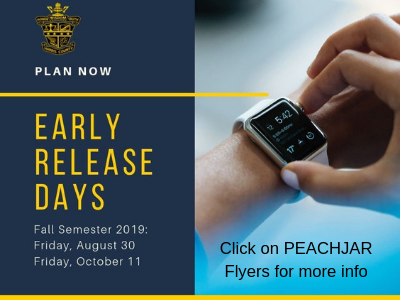 Early Release Friday Oct. 11