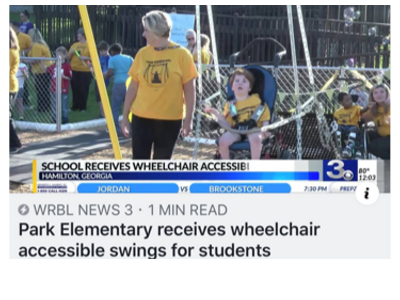 Swing Dedication WRBL News Story