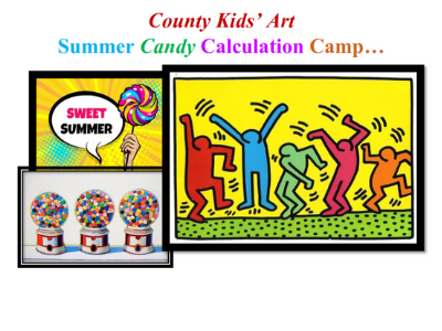 County Kids' Art Camp - Registration Information