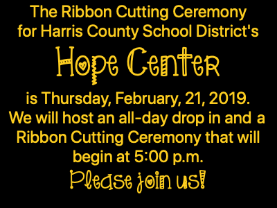 Hope Center - Ribbon Cutting