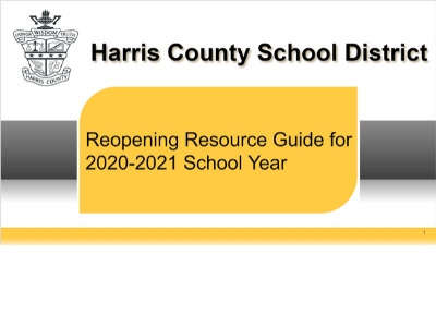 HCSD Reopening Guide
